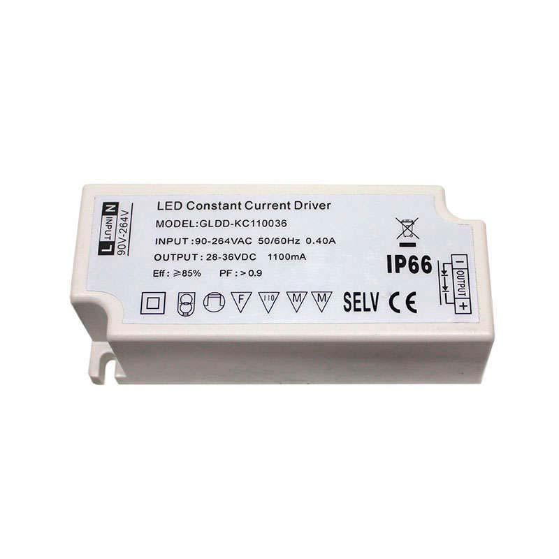 Driver para panel LED DC28-36V/40W/1100mA